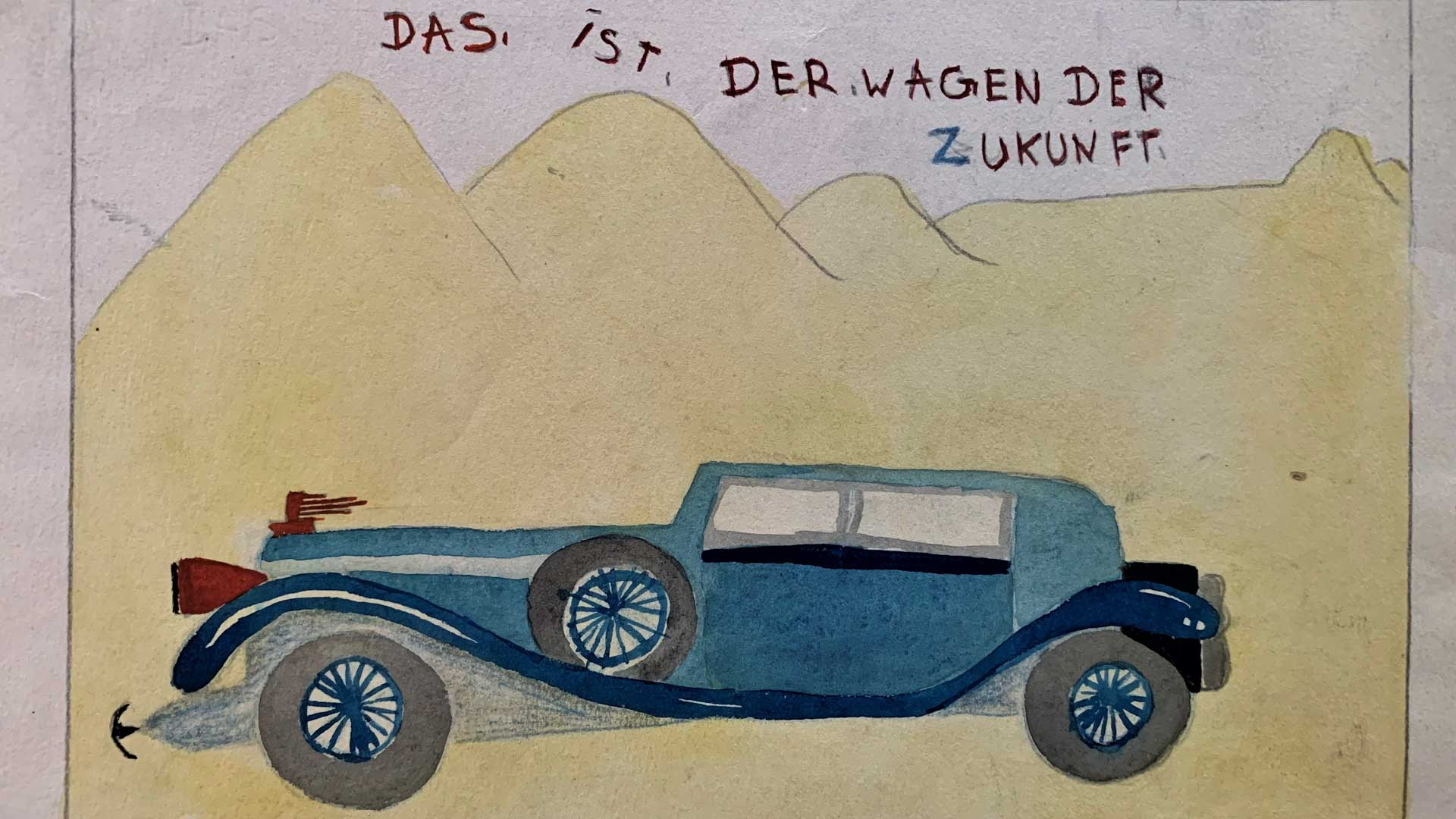 1932, The Car of the future, Boy (12 years), Germany © Florian Haas Collection