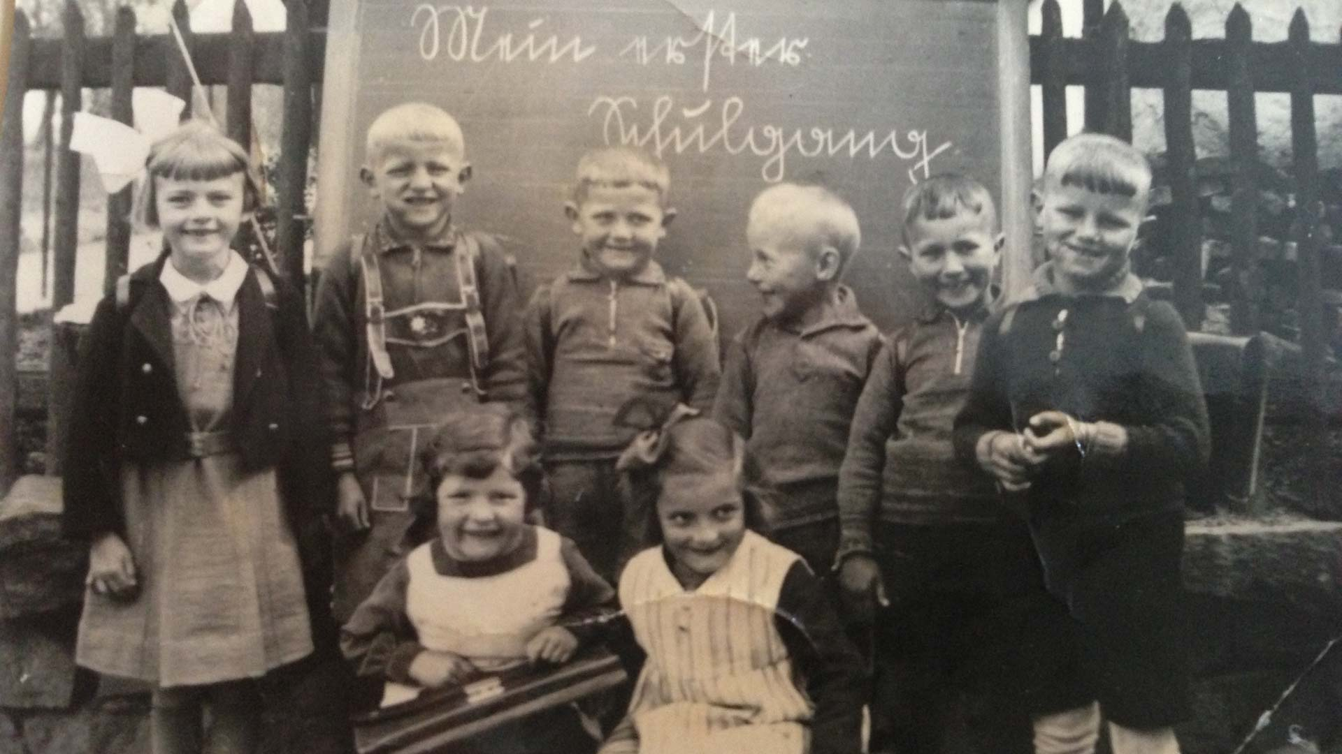 (6) 1938, First School Day, A Village School, Germany © Ströter-Bender Collection